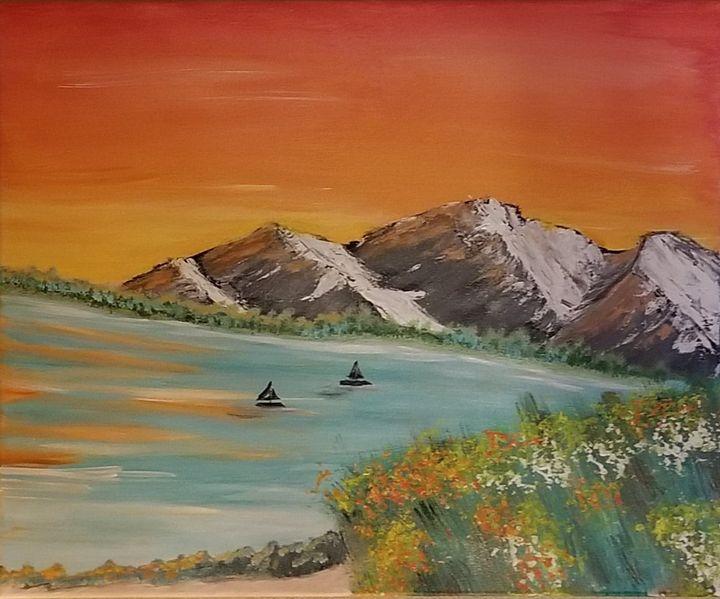 Sail Away - F. Kenneth Art