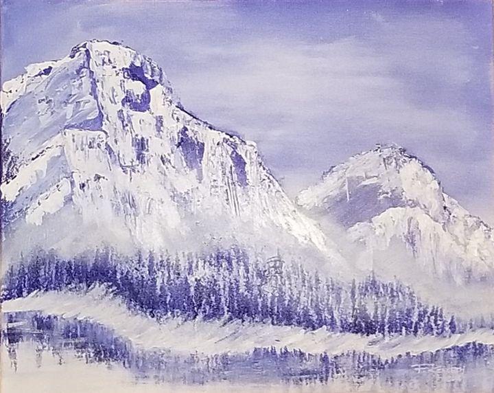 Ice Mountain - F. Kenneth Art