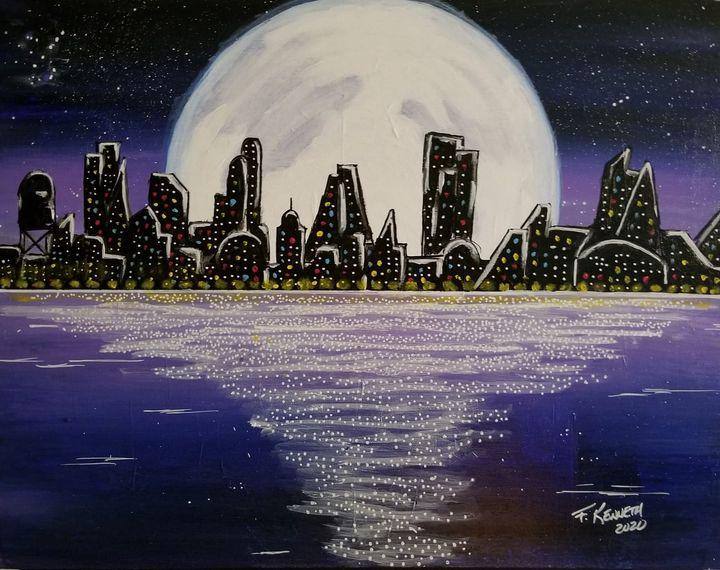 Cuidad Illmuminda [ Lit City ] - F. Kenneth Art