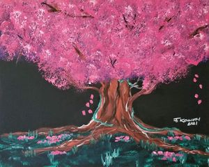 Passion Blooms - F. Kenneth Art