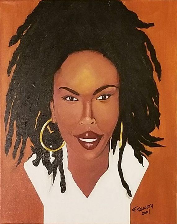 """""""Ms. L. Boogie"""" - F. Kenneth Art"""