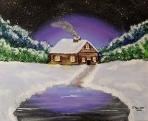 Cozy Winter - F. Kenneth Art