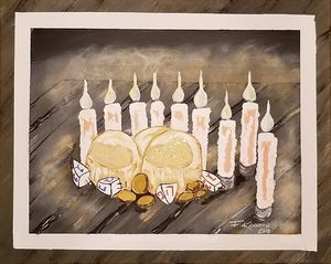 Hanukkah's Honor - F. Kenneth Art