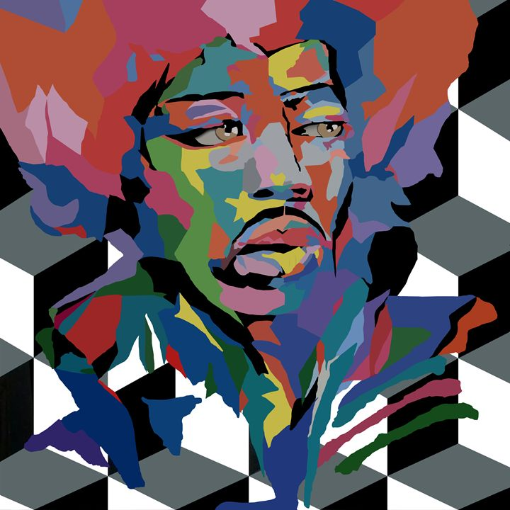 Jimi Hendrix - Luciano Pina