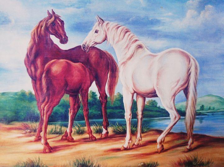 Horse family - Deepak Arts