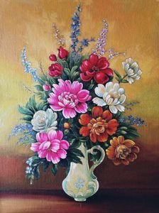 Beautiful Flowers In The Vase