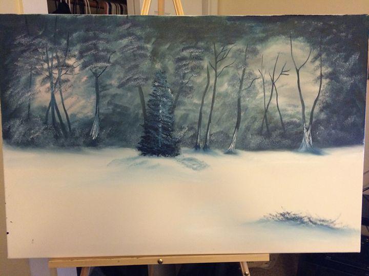 Winter fest - Javier's fine oil paintings