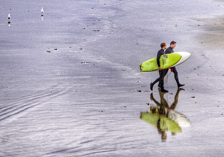 Surf Reflected - Joshua Christopher Photography