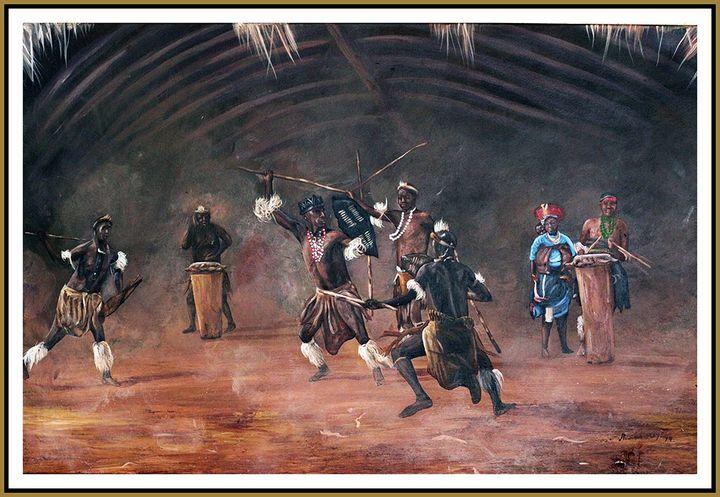Ronald Moyo - South African - Soweto Fine Art
