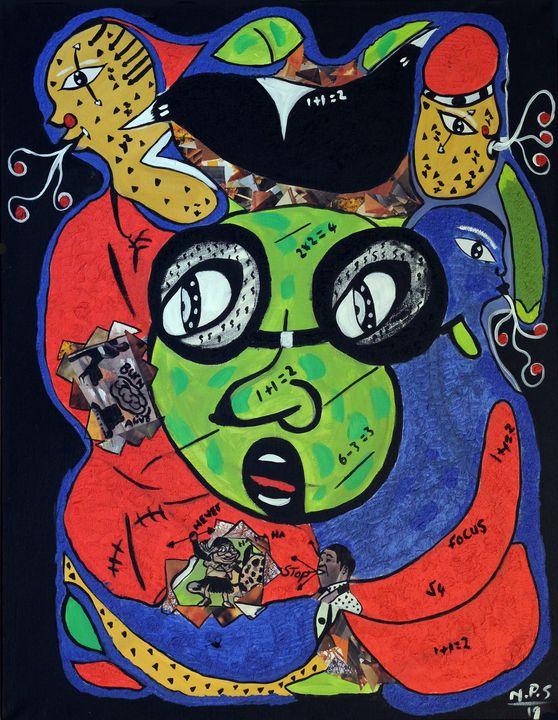 Nkuly Sibeko - South African - Soweto Fine Art
