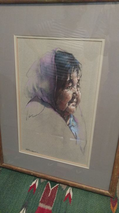 Taos Woman - Timeless Gallery