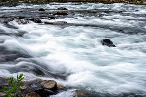 Smooth Water Flow