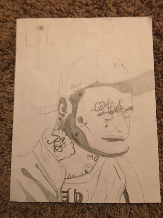 Lil peep - A aspiring artist trying to start his life
