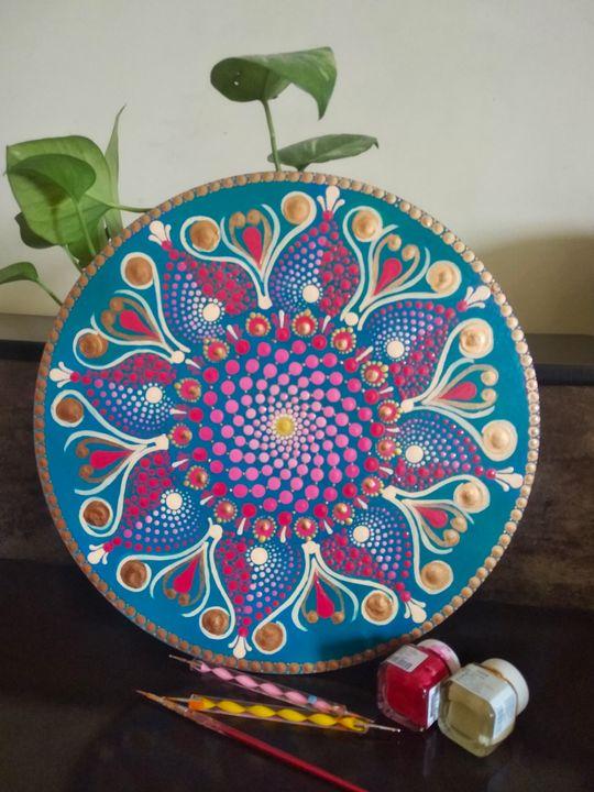 Dot Mandala Art - Dotsnest