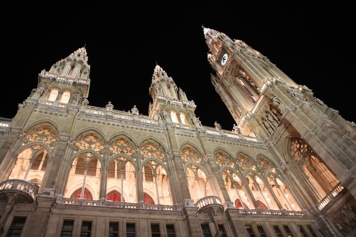 Vienna City Hall during christmas - Mikes gallery