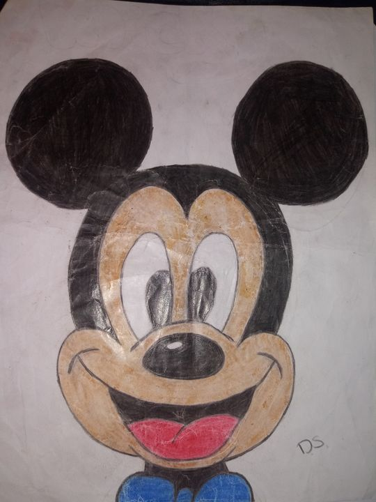 Mickey mouse - Art by dawn