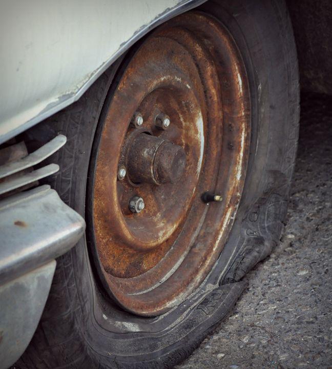 Flat Tire - Elaine Fleeger