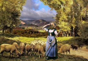 The Lakeland Shepherdess.