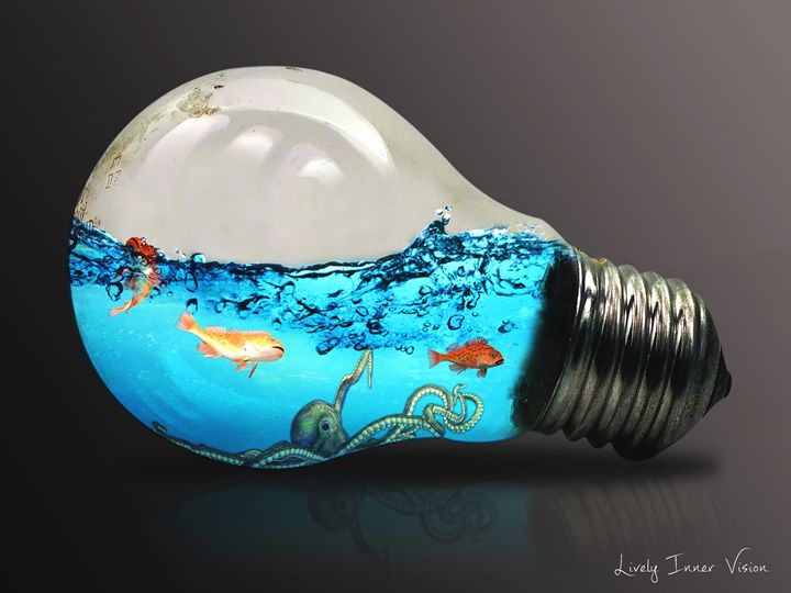 The bulb - Lively Inner Vision