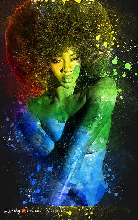 Colorful Ebony - Lively Inner Vision