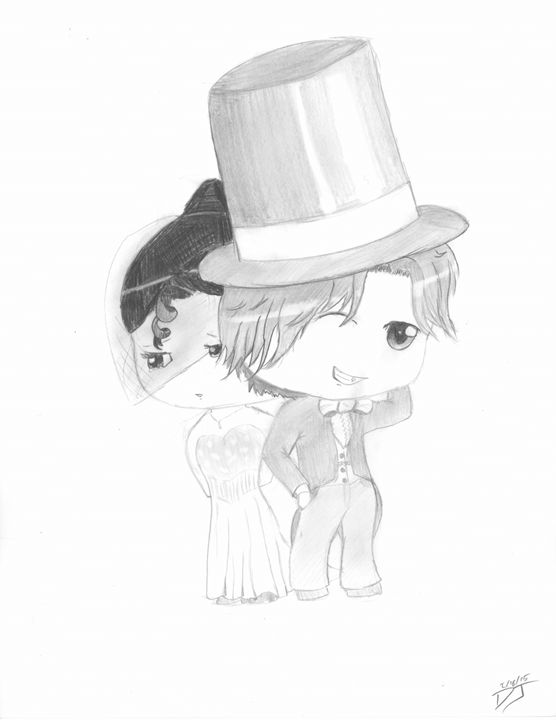 Wedding Chibi - Drawing Central