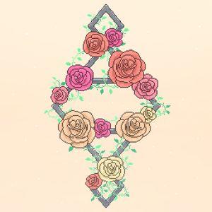 Pixel art Roses
