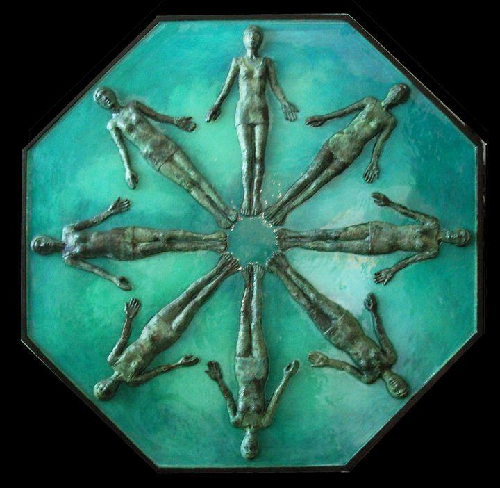 Water Ballet - Isabelle Johnston Art
