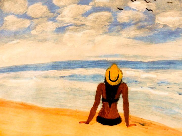 At the beach - Originative