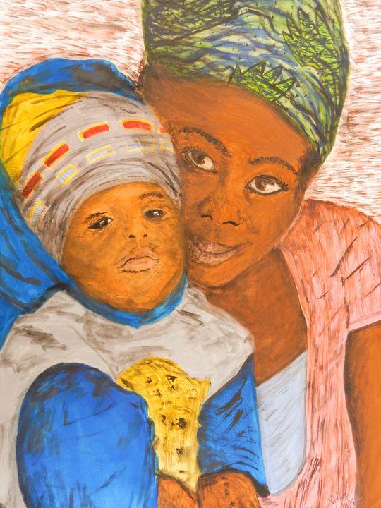 A mother's love. - Originative