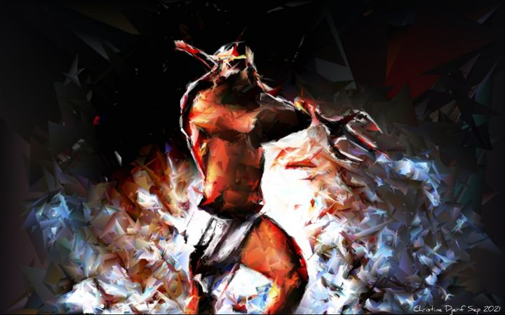 Defender of Gods - Christine Djerf