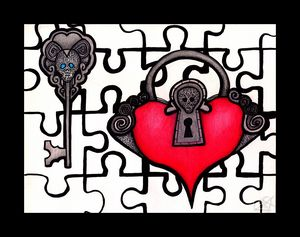 LockKey Puzzle Pieces