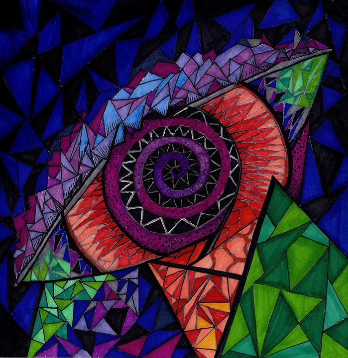 All seeing eye - Anne Arkey