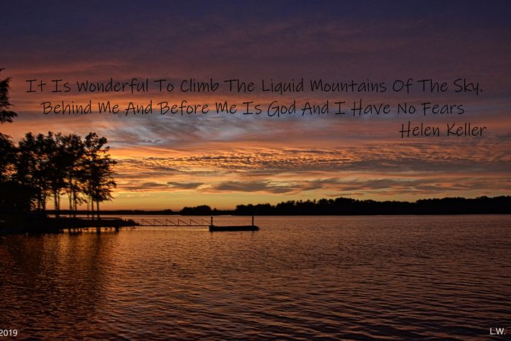 Liquid Mountains Of The Sky - Lisa Wooten Photography