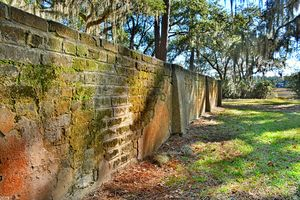 Old House Plantation Cemetery Wall