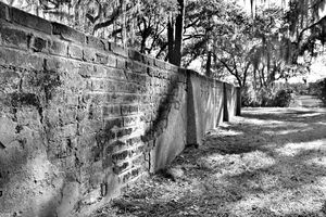Old House Plantation Cemetery Wall B