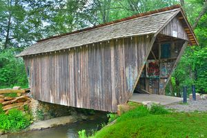 Stovall Mill Covered Bridge 2