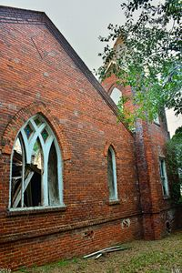Tabernacle Baptist Church Ruins Blac
