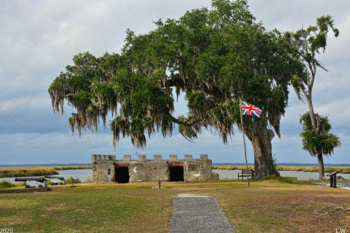 Fort Fredericka Saint Simons Island - Lisa Wooten Photography
