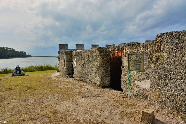 The Cannon At Fort Fredericka Saint - Lisa Wooten Photography