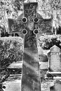 A Celtic Cross At Christ Church St.
