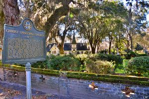 Christ Church And Historical Marker