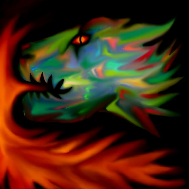 Dragon Flame - Dominic Glaser