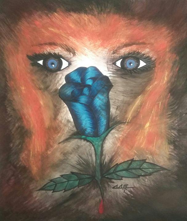 Rose blue - Dominic Glaser