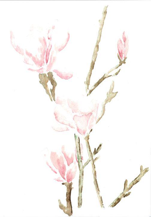 Delicate Flowers - Tinker Art