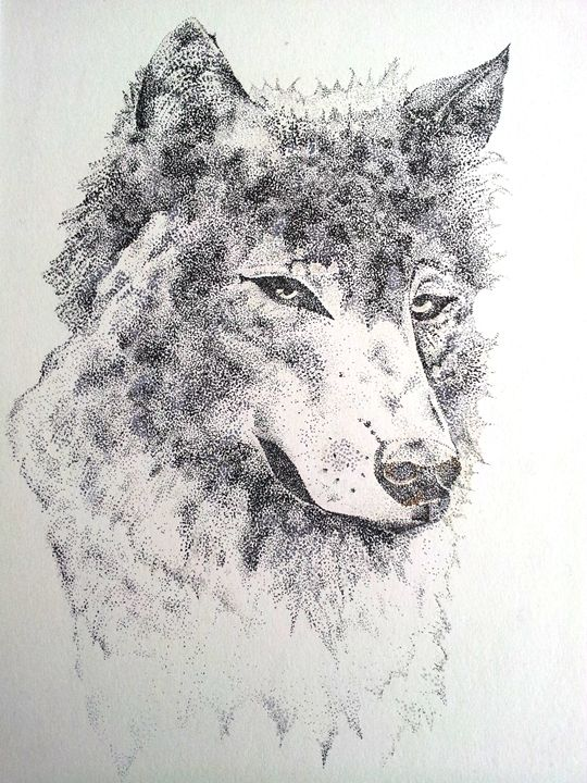 Wolf - Tinker Art