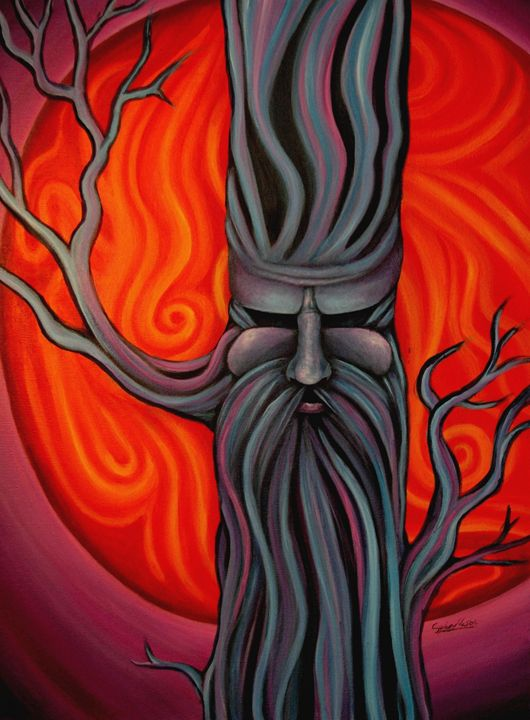Sunset Tree - Sydney M