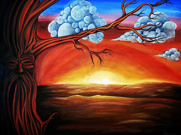 Desert tree - Sydney M