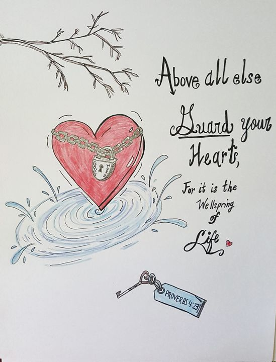 Guard your Heart - LisaUniqueTreasures