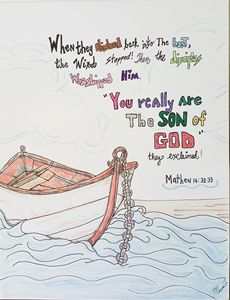 He's the son of God!