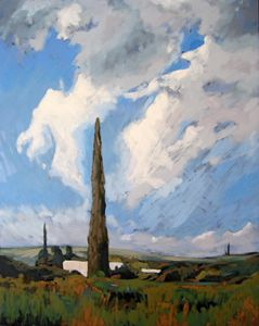 Cyprus Village Landscape